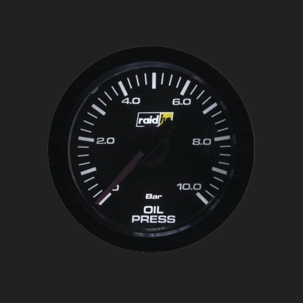 raid hp Zusatzinstrument 52mm Öldruckanzeige Serie Sport