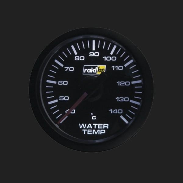 raid hp Zusatzinstrument 52mm Wassertemperatur Serie Sport