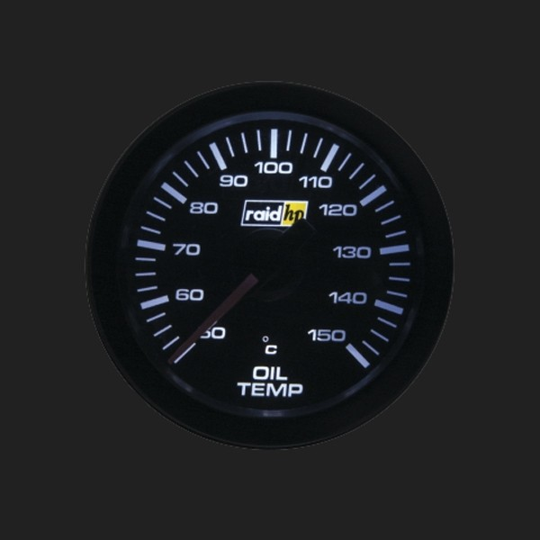 raid hp Zusatzinstrument 52mm Öltemperaturanzeige Serie Sport