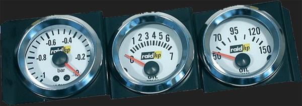 raid hp 1 din schacht rahmen f r 3 zusatzinstrumente rdi. Black Bedroom Furniture Sets. Home Design Ideas