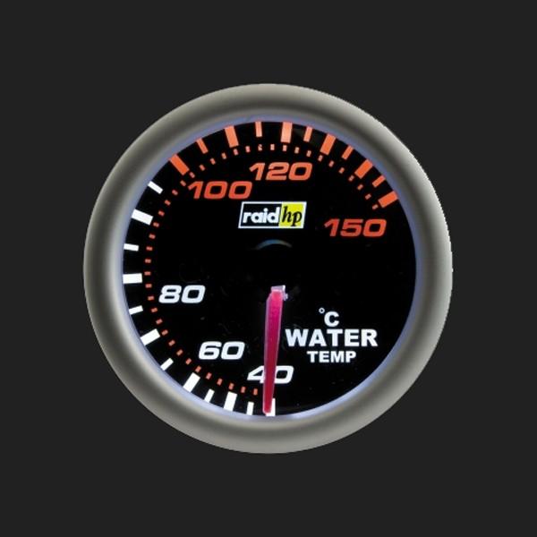 raid hp Zusatzinstrument 52mm Wassertemperaturanzeige Night Flight