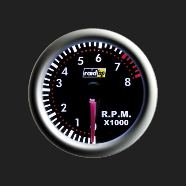 raid hp Zusatzinstrument 52mm Drehzahlmesser Night Flight