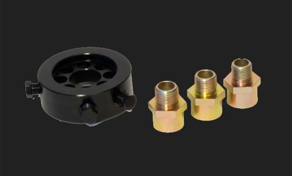 "raid hp Ölfilter-Adapter Set M18 / 20-P1.5 + 3/4""unf16 für Öltemperatur- Öldruckgeber"