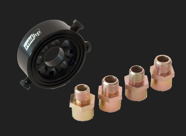 "raid hp Ölfilter-Adapter Set M18-/M20-/M22xP1.5/3/4""unf16 für Öltemperatur- Öldruckgeber"