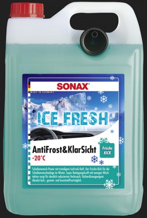 SONAX Antifrost & Klar Sicht bis -20°C IceFresh (5 Liter)