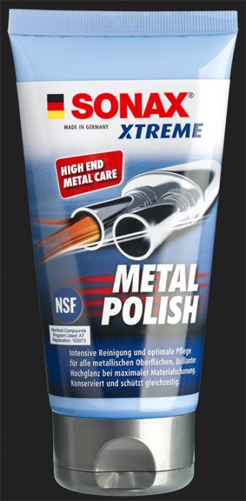 SONAX XTREME Metal Polish (150ml)