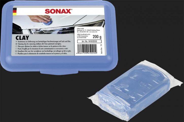SONAX Clay blau Lackpeeling 200g (ReinigungsKnetmasse)