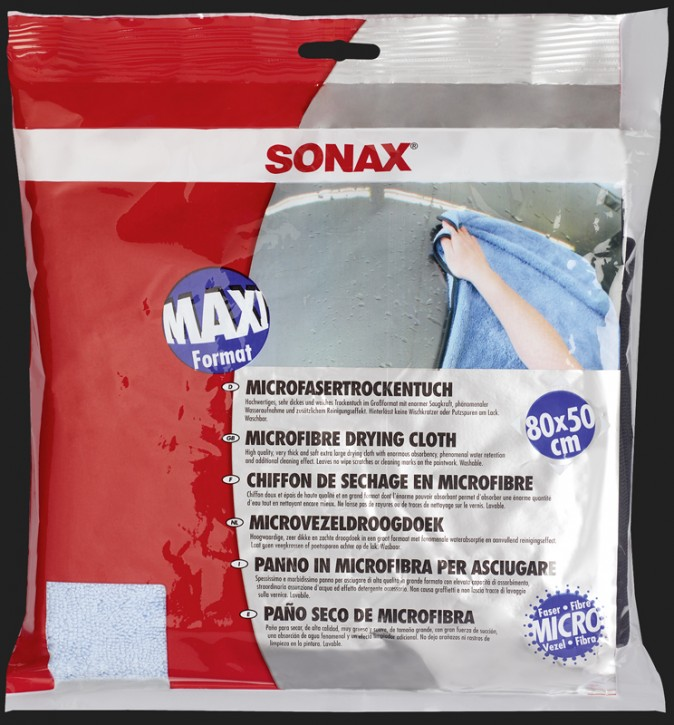 SONAX Microfaser Trocken Tuch