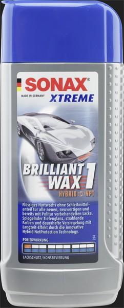 SONAX Xtreme Brilliant Wax 1 Hybrid NPT (250ml)