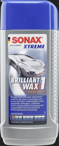 SONAX Xtreme Brilliant Wax 1 Hybrid NPT (500ml)