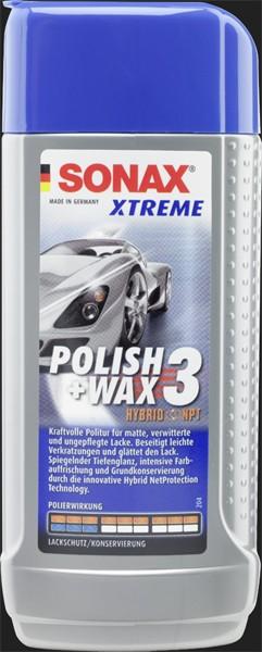 SONAX Xtreme Polish & Wax 3 Hybrid NPT (250ml)
