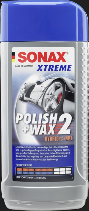SONAX Xtreme Polish & Wax 2 Hybrid NPT (500ml)