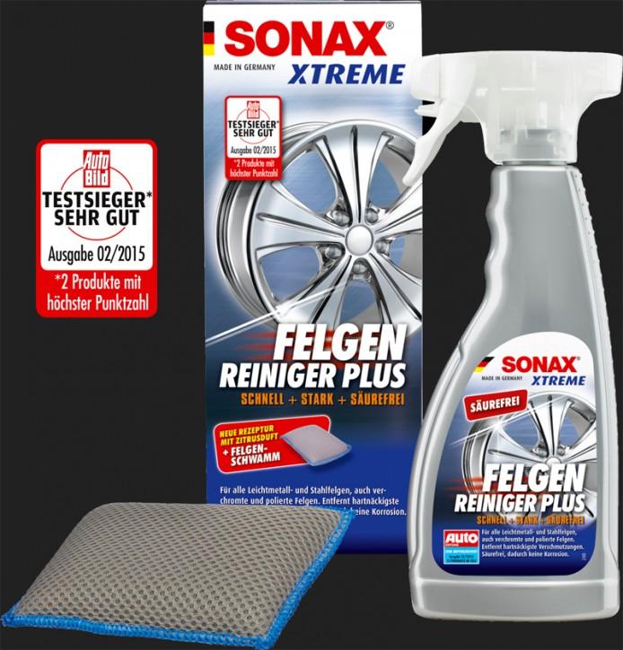 SONAX Xtreme Felgen Reiniger PLUS inkl. Schwamm (500ml)