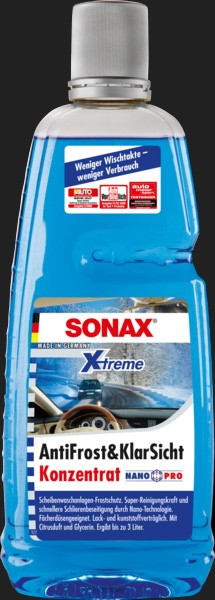SONAX XTREME AntiFrost & Klarsicht Konzentrat Nano Pro (1 Liter)