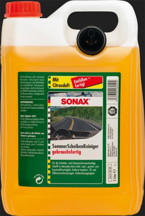 SONAX Scheiben Reiniger gebrauchsfertig Citrus (5 Liter)