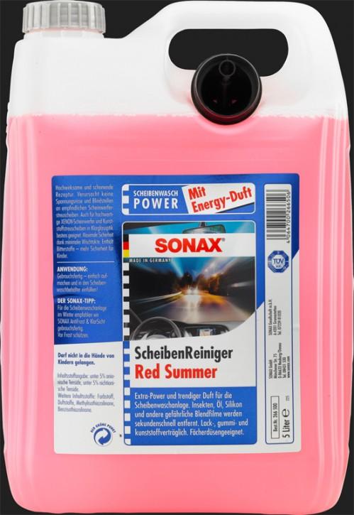 SONAX Scheiben Reiniger gebrauchsfertig Red Summer (5 Liter)