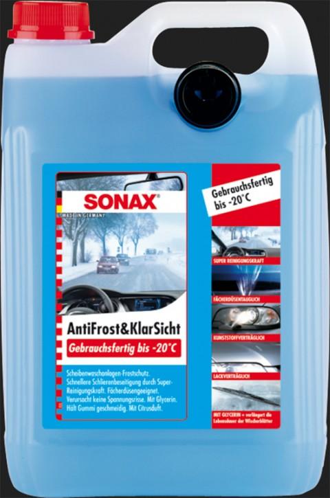 SONAX Anti Frost & Klar Sicht gebrauchsfertig bis -20°C (5 Liter)
