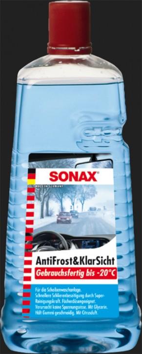 SONAX Anti Frost & Klar Sicht gebrauchsfertig bis -20°C (2 Liter)
