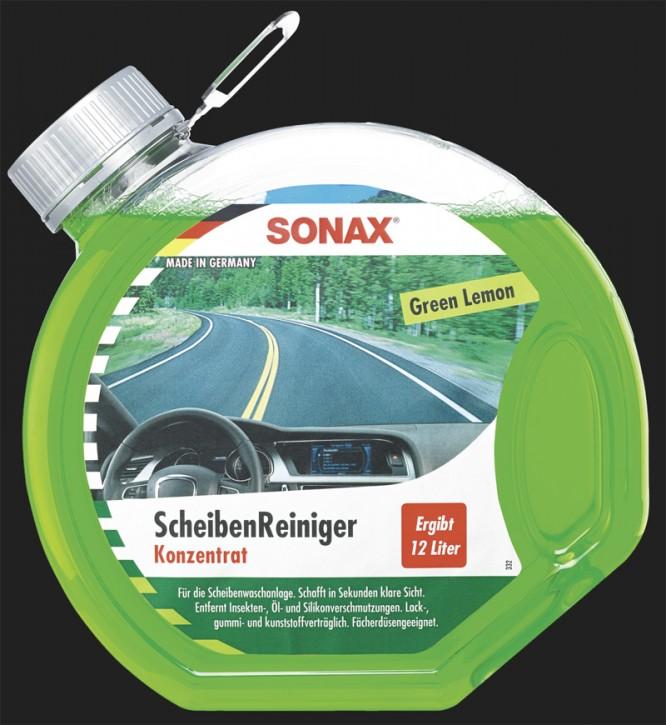 SONAX Scheiben Reiniger Konzentrat Green Lemon (3 Liter)