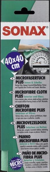 SONAX Microfaser Tuch PLUS Innen & Scheibe
