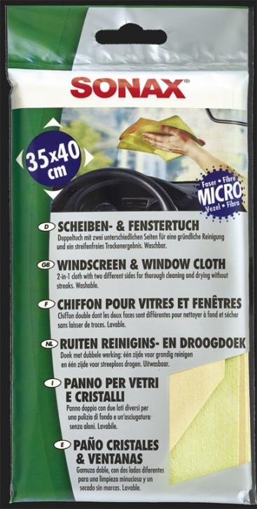 SONAX Scheiben- & Fenster Tuch