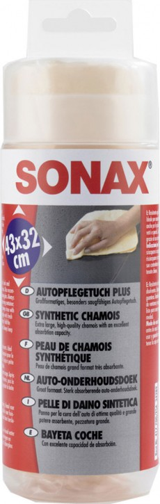 SONAX Auto Pflegetuch PLUS
