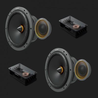 """SONY 16cm (6,5"""") Mobile ES™ 2-Wege-Komponenten-Lautsprecher"""