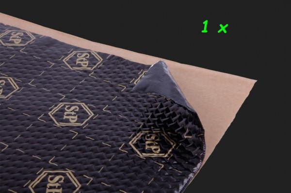 "Standartplast Alubutyl ""Black Gold"" One Piece (1 x 750x500x2,3mm) 0,375m²"