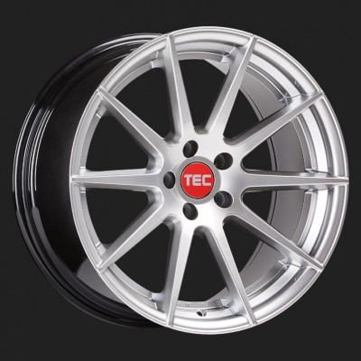 """TEC Alufelge GT7 in 8,5 X 19"""" hyper-silber (5-Loch)"""