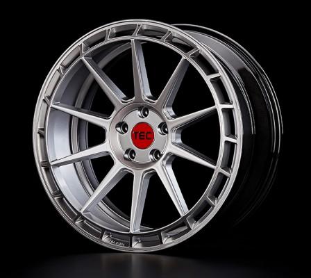 """TEC Alufelge GT8 in 9,0 X 20"""" Hyper-Silver (5-Loch)"""