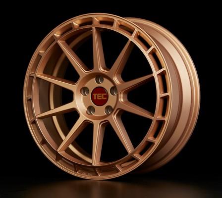 """TEC Alufelge GT8 in 8,5 X 19"""" Rosé-Gold (5-Loch)"""