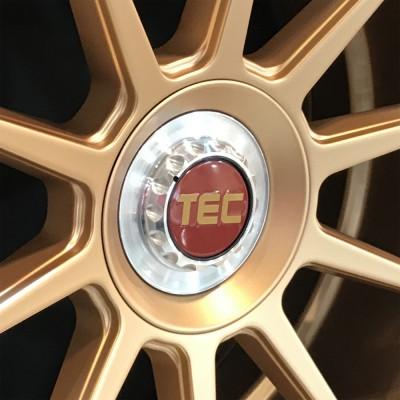 TEC ALU-Zentralverschluss-Deckel in Rosé-Gold für Alufelge GT8