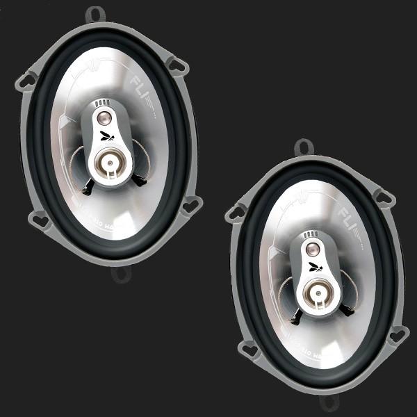 """FLI 3-Wege Lautsprecher Triaxial 127mmx179mm (5X7"""" Oval) Max.Power 210 Watt"""