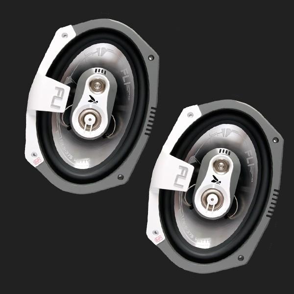 """FLI 3-Wege Lautsprecher Triaxial 160mmx230mm (6X9"""" Oval) Max.Power 375 Watt"""