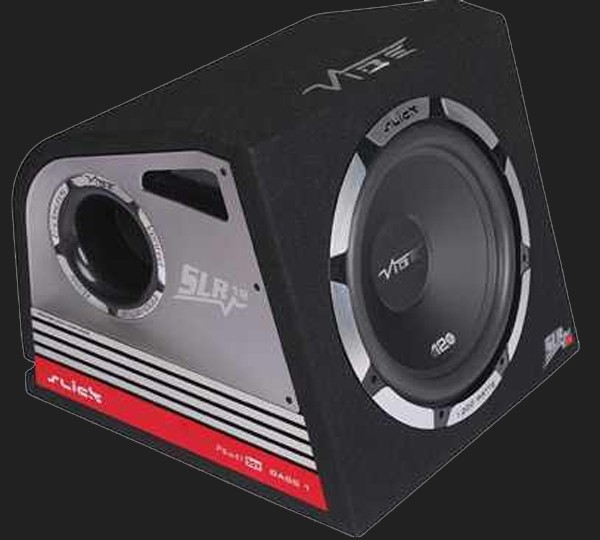 "Vibe Slick SLR Vented 12"" (30cm) aktive Subwooferkiste Max.Power 1200W"