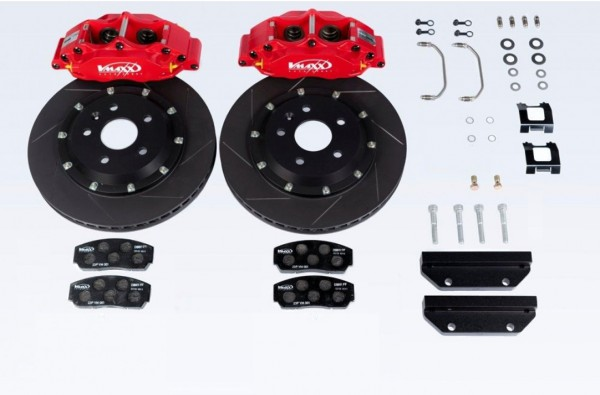 V-MAXX Big Brake Kit (290mm) Ford TRANSIT COURIER (JN8/JU2) alle Modelle ab 55 KW bis 74 KW Bj. 2.14 >