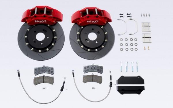 V-MAXX Big Brake Kit (365mm) VW Arteon (3H) alle Modelle 110 KW bis 206 KW Bj. 4.17 > Nur Ø55mm Achsschenkel inkl. Stahlfexschläuchen
