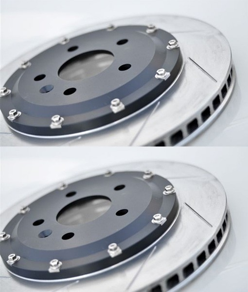 Bremsscheiben Set L+R mit Zenter vormontiert passend für alle V-MAXX Big Brake Kits 290mm (Austausch)