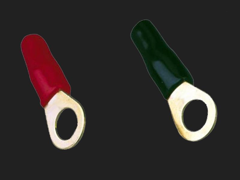 Ringösen 16 mm² /> 8,4 mm 2 x rot 2 x schwarz