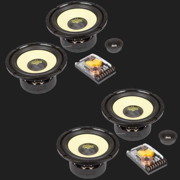 audio system helon series 2 wege doppel compo system h 165. Black Bedroom Furniture Sets. Home Design Ideas
