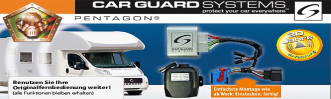 Caravan / Reisemobil Alarmsysteme