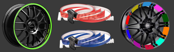 Pin Stripes & Felgenfolien