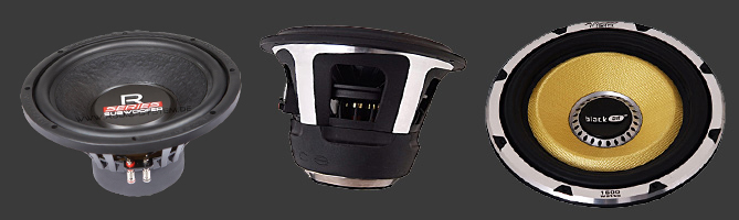 Subwoofer-Chassis