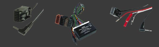 Adapterkabel für Autotelefonie