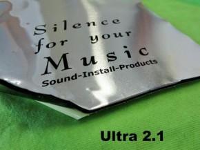"""SIP """"Ultra2.1"""" Alubutyl 2,1mm Einzelplatte 33x50cm (1 Stück)"""