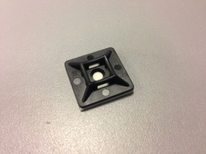 ACV selbstklebender Montagesockel für Kabelverbinder bis max 3,6mm (1 Stück)