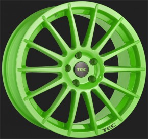 TEC Winterkomplettradsatz AS2 8,0x18 mit 225/40R18 Nexen in Race Light Green (4 & 5 Loch)