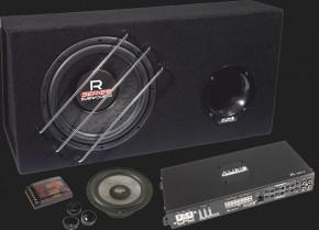 Audio System RADION-SERIES Komplettset (R 10 BR/R 110.4/R 165 EVO)