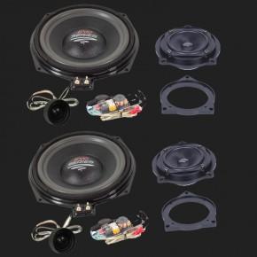 Audio System X--ION SERIES 3-Wege Compo System X 200 EVO für alle E und F Modelle von BMW