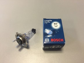 Bosch Halogen-Lampe H7 12V/55W Longlife Daytime (1 Stück)